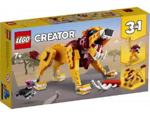 Lego Creator Leone selvatico 3 in 1