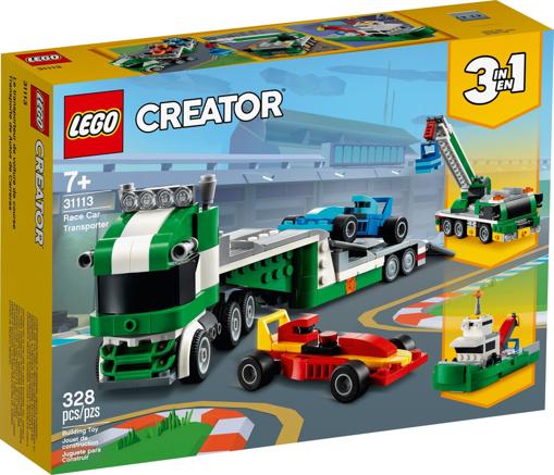 Lego Creator Trasportatore di auto da corsa