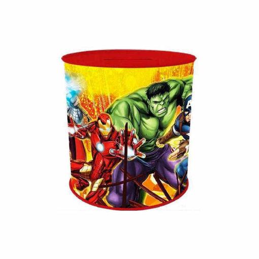 Salvadanaio in latta 11x13 cm Avengers