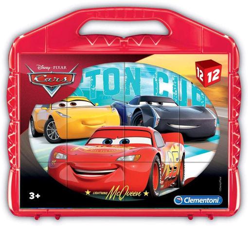 Clementoni Valigetta 12 cubi Disney Cars