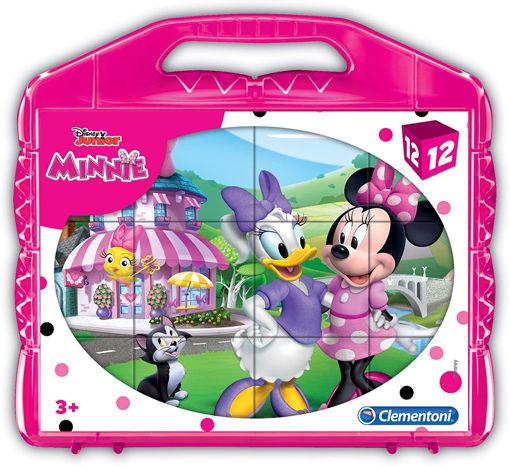 Clementoni Valigetta 12 cubi Disney Minnie