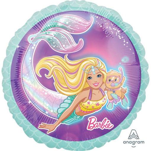 Palloncino Mylar 45 cm Barbie Dreamtopia