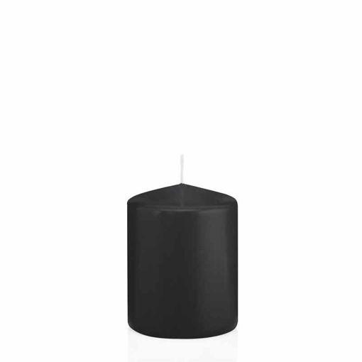 Candela Cilindro altezza 8 cm diametro 6 cm Nero