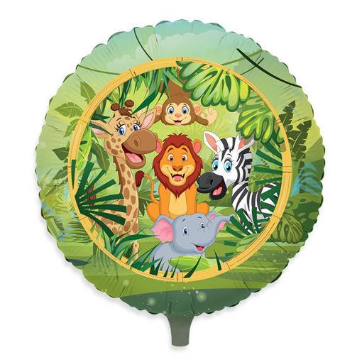 Palloncino Mylar 18″ 45 cm Jungle