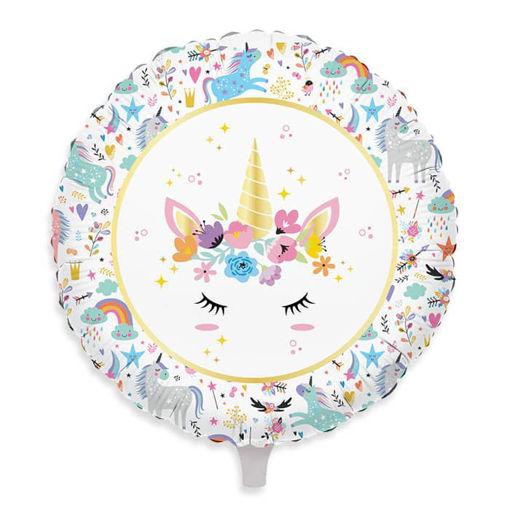 Palloncino Mylar 18″ 45 cm Unicorn