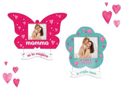 Portafoto con pendente festa della Mamma