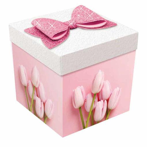Skatush Exploshion Box Biglietto Auguri Tulip Mamma