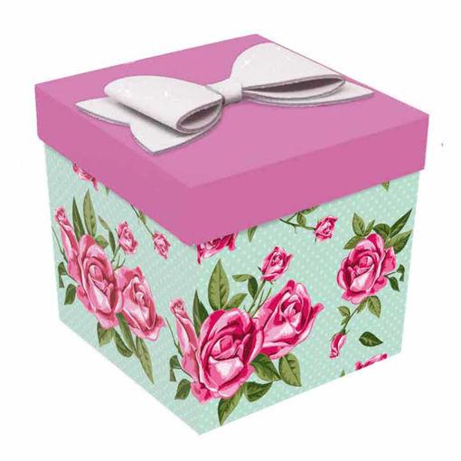 Skatush Exploshion Box Biglietto Auguri Rose Mamma