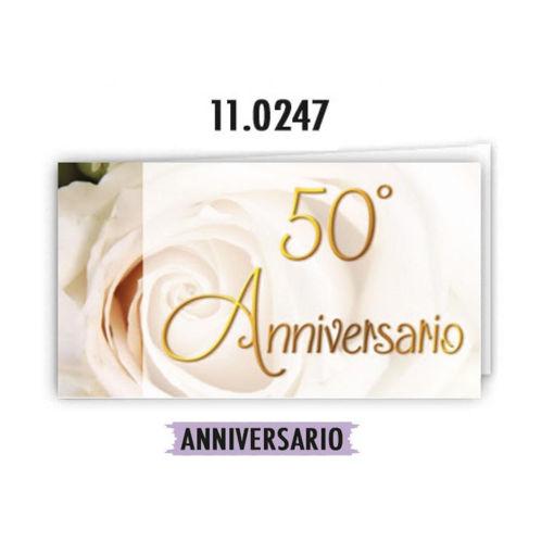 Biglietti Bomboniera 50° Anniversario 20 pezzi
