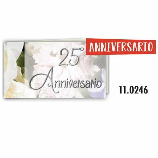 Biglietti Bomboniera 25° Anniversario 20 pezzi