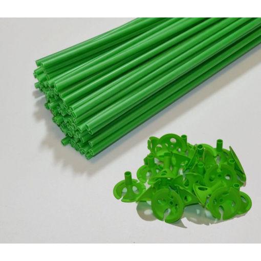 Astine con valvola Verdi 10 pezzi