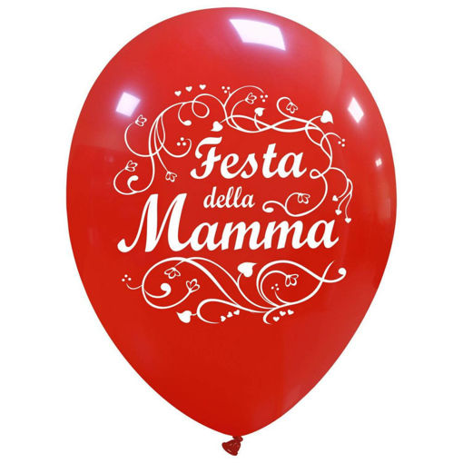Palloncini in lattice 12'' 30 cm Festa della Mamma 100 pezzi