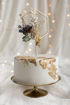 Cake Topper in Legno Esagonale 24 cm