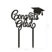 Cake Topper Congrats Grad