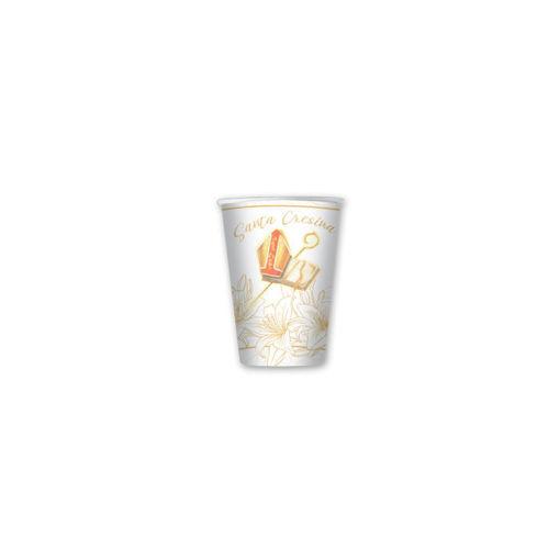 Bicchieri in carta 80 cc Cresima 8 pezzi