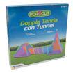 Play Out Doppia Tenda con Tunnel