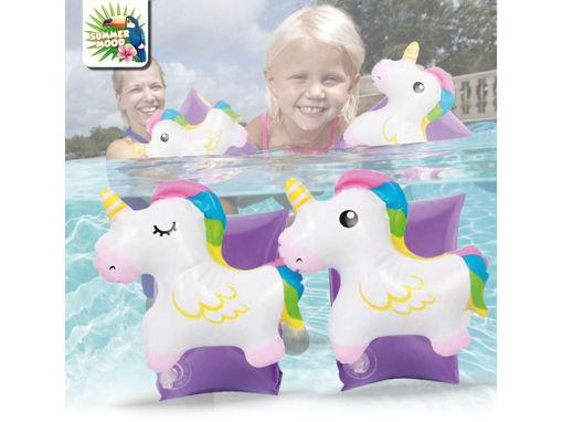 Braccioli Bimba con Unicorno 3D