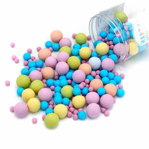 Happy Sprinkles Bubble Gum Choco Crunch 135 grammi