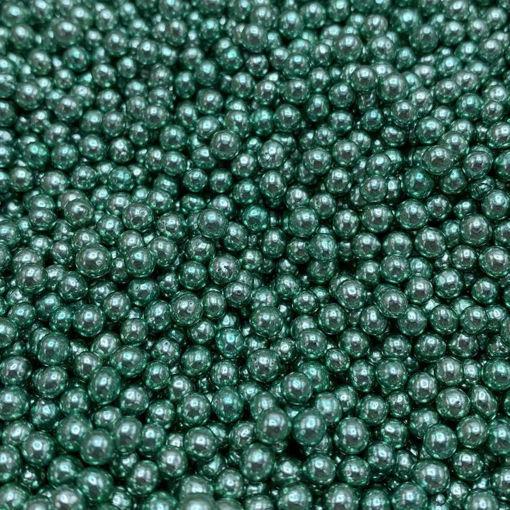 Happy Sprinkles Green Metalllic Pearls 90 grammi