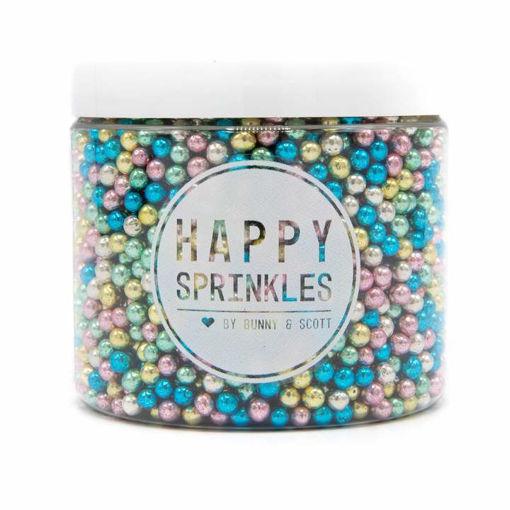 Happy Sprinkles Metallic Explosion 100 grammi