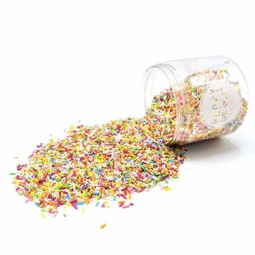 Happy Sprinkles Rainbow Strands 90 grammi.