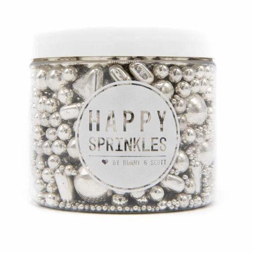 Happy Sprinkles Silver Explosion 195 grammi