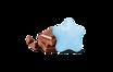 Maxtris Le Dolci Stelle Azzurro Incartati in vassoio 500 grammi