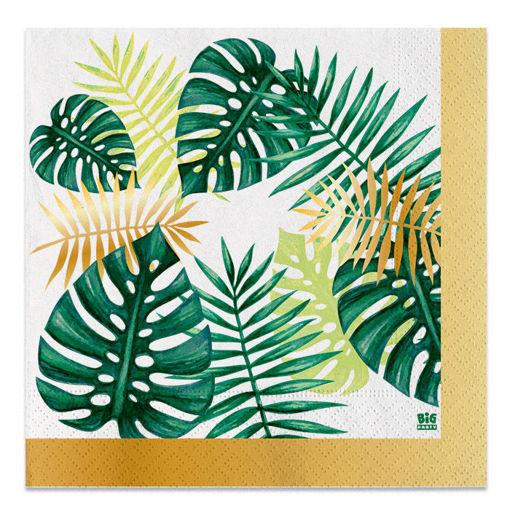 Tovaglioli 33x33 cm Tropical 20 pezzi