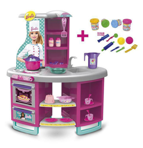 Cucina di Barbie con Pasta da Modellare