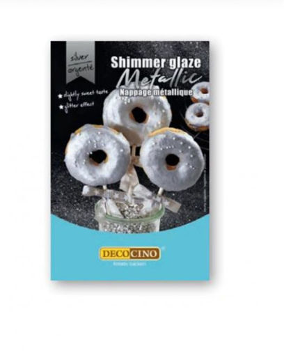 Glassa per Dolci Argento Metal 65 grammi