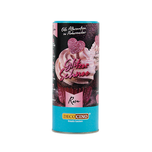 Polvere Alimentare Glitter Rosa 100 grammi