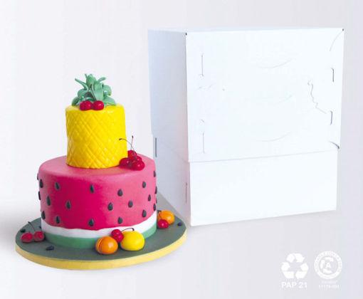 Box per Dolci 25x25 cm altezza da 23 a 43 cm