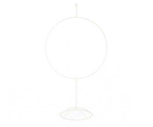 Cerchio Bianco con base