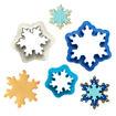 Set 3 tagliapasta Frozen Star in plastica