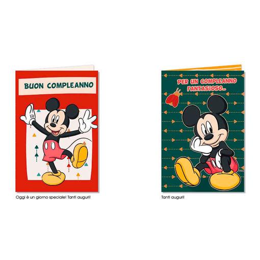 Biglietto Auguri Disney Topolino - modelli assortiti