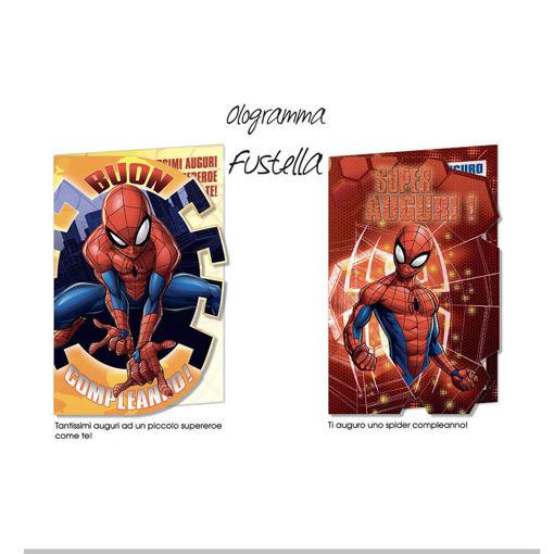 Biglietto Auguri Spiderman