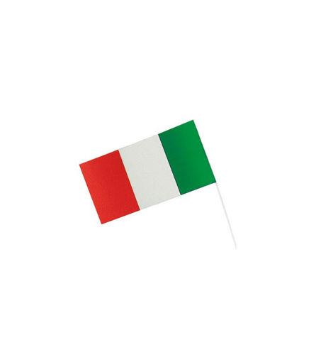 Bandierina con stecca Italia 12x23 cm