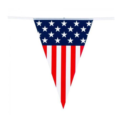 Festone Bandierina USA 6 metri