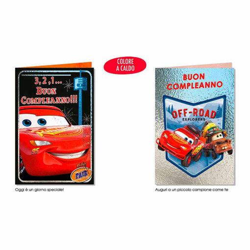 Biglietto Auguri Disney Cars