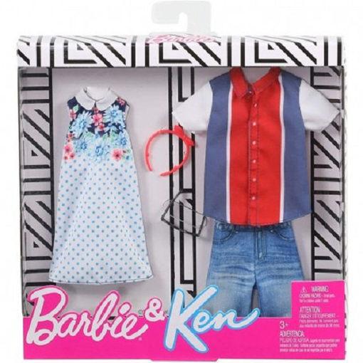 Barbie 2 Abiti Barbie e Ken