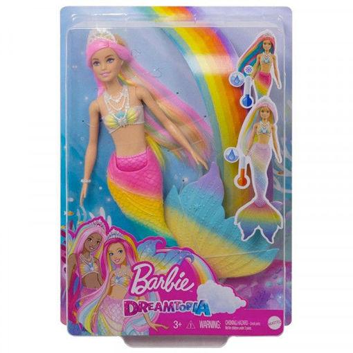 Barbie Sirena cambia colore