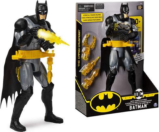 Batman 30 cm elettronico con cintura cambia arma