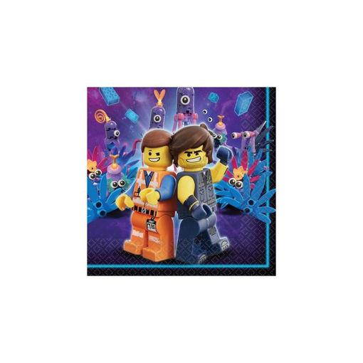 Tovaglioli 33x33 cm Lego Movie 16 pezzi