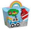 Lego Duplo Elicottero Antincendio e Auto della Polizia