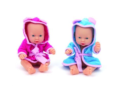 Baby Bagnetto con accappatoio 25 cm