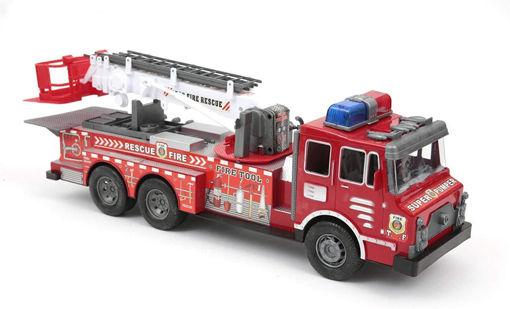Camion dei Pompieri con movimento a frizione
