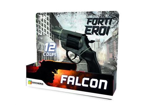 Pistola Police Falcon a tamburo 12 colpi