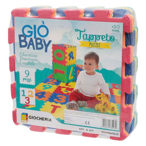 Tappeto Puzzle numeri 9 pezzi