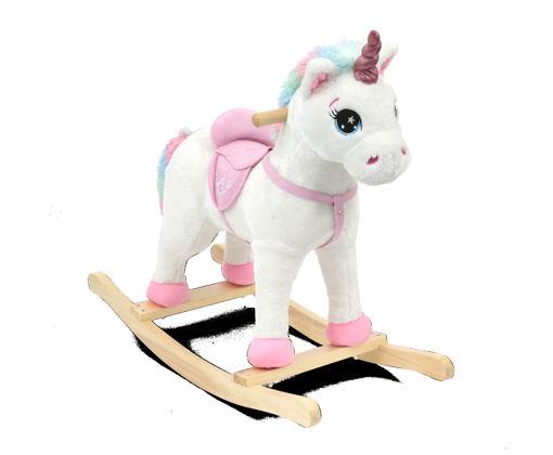 Unicorno a dondolo con suoni