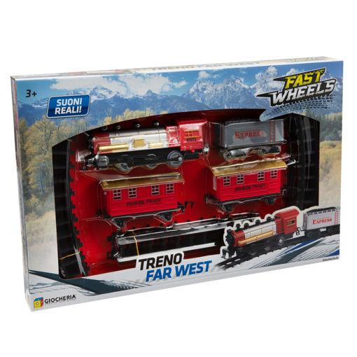 Treno Far West con suoni reali